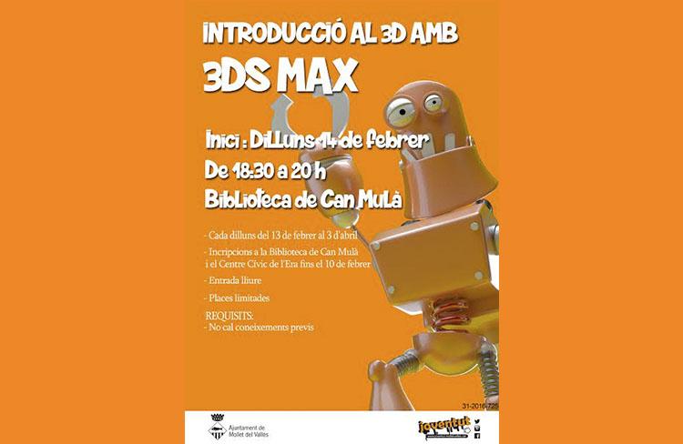 Disseny en 3D  @ Biblioteca de Can Mulà  | Mollet del Vallés | Cataluña | Espanya