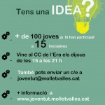 cartell suport a les iniciatives i participació